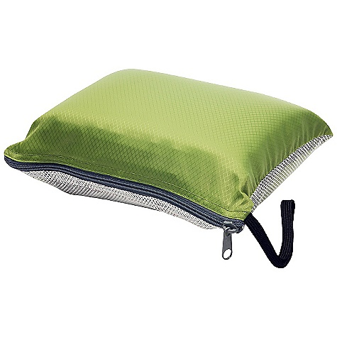 Camp and Hike Big Agnes Sleeping Giant Memory Foam Deluxe Pillow DECENT FEATURES of the Big Agnes Sleeping Giant Memory Foam Deluxe Pillow Pillows will fit inside Big Agnes sleeping bag pillow pocket Deluxe Pillow: Memory Foam, Air Pillow, Cover and Stuff Sack The SPECS Packed Size: 7.5 x 9 x 3in. / 19 x 23 x 8 cm Flat Size: 12 x 16 x 3.5in. / 30 x 41 x 9 cm Weight: 8.5 oz / 241 g - $39.95