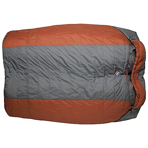 Camp and Hike Free Shipping. Big Agnes Dream Island 15 Degree Sleeping Bag DECENT FEATURES of the Big Agnes Dream Island 15 Degree Sleeping Bag Designed for two people Integrated full pad sleeve design Rectangular shaped bags Extra 2in./5cm of length in foot box: King Solomon, Big Creek and Cabin Creek Zipper on each side Pillow pockets Liner loops Mesh storage sack and nylon stuff sack No-draft collar, No-draft wedge, No-draft zipper, No-draft center flap The SPECS Capacity: 2 Person Temperature Rating: 15deg F / -9deg C Fill Type: Quallofil Fill Weight: 72 oz / 2041 g Bag Weight: 9 lbs 5 oz / 4224 g Stuff Sack Size: XXL: 12 x 23in. / 31 x 58 cm Compressed Size: 12 x 14in. / 30 x 36 cm Fits Up To: 6' 6in. / 198 cm Pad Size: 50 x 78in./ 127 x 198 cm, 2-25 x 78in./ 64 x 198 cm Nylon rip-stop fabric Cotton/Polyester blend lining Thermolite Quallofil insulation - $219.95
