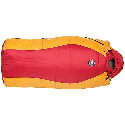 Camp and Hike On Sale. Free Shipping. Big Agnes Kids' Little Red 15 Degree Sleeping Bag DECENT FEATURES of the Big Agnes Kids' Little Red 15 Degree Sleeping Bag Integrated pad sleeve Full pad sleeve: Little Red Half pad sleeve: Porcupine, Wolverine Rectangular shaped bag: Little Red Mummy shaped bags: Porcupine, Wolverine Pillow pocket Liner loops YKK #8 zipper Mesh storage sack and nylon stuff sack No-draft collar, No-draft wedge, No-draft zipper The SPECS Temperature Rating: 15deg F / -9deg C Fit Up To: 4' 5in./ 135 cm Pad Size: 20 x 48in. / 51 x 122 cm Fill Type: M3 Fill Weight: 20 oz / 567 g Bag Weight: 2 lbs 14 oz / 1304 g Stuff Sack Size: M: 8 x 17.5in. / 20 x 45 cm Compressed Size: 8 x 9in. / 20 x 23 cm Nylon fabric Big Agnes M3 Insulation: Little Red, Wolverine 600 fill Down: Porcupine - $79.96