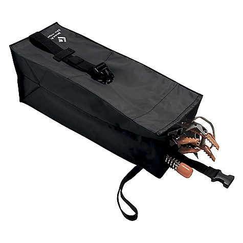 Climbing Black Diamond ToolBox FEATURES of the Black Diamond ToolBox Holds crampons, screws or Spectres Features a quick-release clip, drain holes and hook-and-loop closure Interior zippered pocket for spare picks and files - $29.95