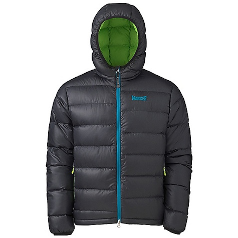 Free Shipping. Marker Men's Toaster Down Jacket DECENT FEATURES of the Marker Men's Toaster Down Jacket 600+ Fill Power Down Elasticized Cuff and Hood Zippered Handwarmer Pockets Internal Draft Flap with Zipper Garage YKK Zippers The SPECS Center Back Length: 28.25in. 100% Polyester Ripstop 1.6 oz/yd Insulation: 600 Fill Power Down - $219.95
