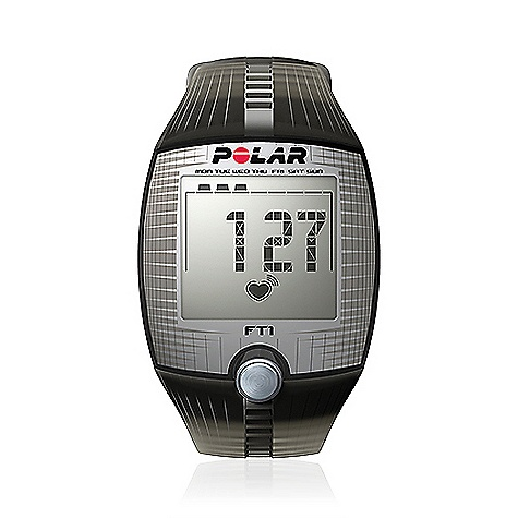 Fitness Free Shipping. Polar FT1 Heart Rate Monitor FEATURES of the FT1 Heart Rate Monitor by Polar Shows heart rate on large and easy-to-read display Helps improve your fitness with manual heart rate target zone Displays a summary of your latest workout Simple one-button start and coded heart rate transmission to avoid cross-talk Safely exercise within your target zone Records average and maximum heart rate Basic Features Average and maximum heart rate of training Heart rate - bpm HR-based target zones with visual and audible alarm Manual target zone - bpm Polar OwnCode (5kHz) - coded transmission Recording Features Training files (with summaries) - 1 Training Features HeartTouch - button-free operation of wrist unit Watch Features Backlight Date and weekday indicator Display text in English Time of day (12/24h) Includes Polar FT1 training computer Polar T31 coded transmitter Getting Started Guide - $59.95