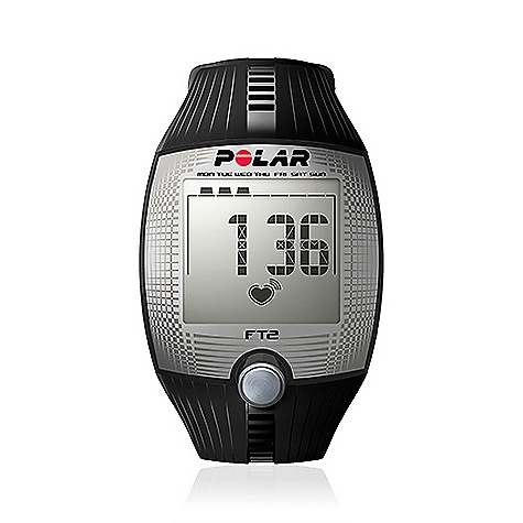 Fitness Free Shipping. Polar FT2 Heart Rate Monitor FEATURES of the FT2 Heart Rate Monitor by Polar Shows heart rate on large and easy-to-read display Helps improve your fitness with automatic age-based heart rate target zone Displays a summary of your latest workout Simple one-button start and coded heart rate transmission to avoid cross-talk Records average and maximum heart rate Basic Features Automatic age-based target zone - bpm Average and maximum heart rate of training Heart rate - bpm HR-based target zones with visual and audible alarm Manual target zone - bpm Polar OwnCode (5kHz) - coded transmission Recording Features Training files (with summaries) - 1 Training Features HeartTouch - button-free operation of wrist unit Watch Features Backlight Backlight Date and weekday indicator Display text in English Time of day (12/24h) Water resistant - 30m Includes Polar FT2 training computer Polar T31 coded transmitter Getting Started Guide - $79.95