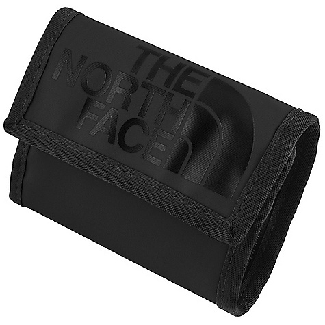 Camp and Hike The North Face Base Camp Wallet DECENT FEATURES of The North Face Base Camp Wallet Zippered and Velcro pocket PVC-free ID window The SPECS Average Weight: 2 oz / 57 g Dimension: 7.5 x 4.5in. / 19 x 12 cm 300D phthalate-free TPE laminate, 420D nylon, non-PVC plastic This product can only be shipped within the United States. Please don't hate us. - $25.00
