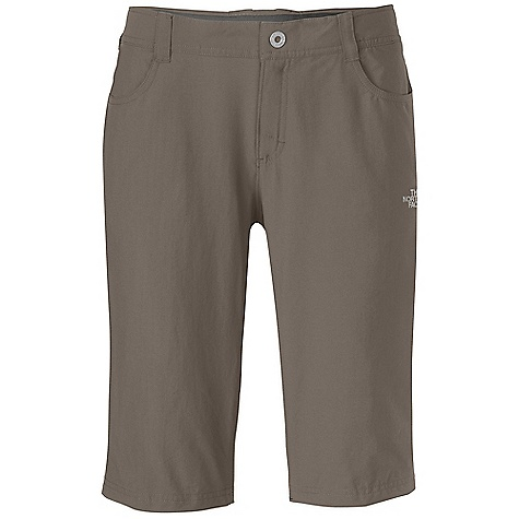 Free Shipping. The North Face Women's Taggart Capri DECENT FEATURES of The North Face Women's Taggart Capri Incredibly lightweight four-way stretch fabrication Quick drying Lined waistband for comfort Front stash pocket with invisible zip closure Front closure with belt loops Two hand pockets Two rear pockets, one with secure zip Articulation Active fit Ultraviolet Protection Factor (UPF) 50 The SPECS Average Weight: 6 oz / 180 g Inseam: regular: 12.5in. 90D 124 g/m2 (4.37 oz/yd2) 95% nylon, 5% elastane four-way stretch This product can only be shipped within the United States. Please don't hate us. - $64.95