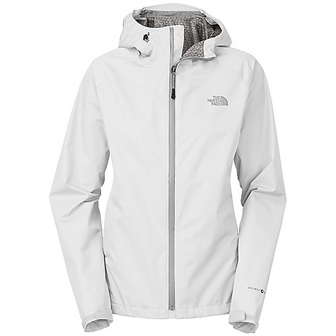 Free Shipping. The North Face Women's RDT Rain Jacket DECENT FEATURES of The North Face Women's RDT Rain Jacket Waterproof, extremely breathable and seam sealed, aided by a FlashDry print component Attached adjustable hood Polyurethane (PU) center front zip Two secure-zip hand pockets Pit-zips Stowable in hand pocket Bonded cuff tabs Hem cinch-cord Hood brim The SPECS Average Weight: 12 oz / 340 g Center Back Length: 27in. 50D 119 g/m2 (4.2 oz/yd2) HyVent 2.5L-100% polyester ripstop with FlashDry This product can only be shipped within the United States. Please don't hate us. - $148.95