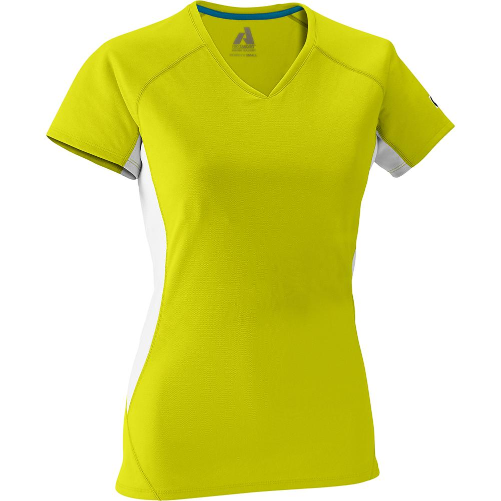 Eddie Bauer Circuit T-Shirt - Worn for mountain training or as a lightweight first layer, the Circuit T-Shirt utilizes Cocona fabric technology. This efficient wicking style moves sweat at an accelerated rate, dries quickly, and provides UPF 30+ sun protection. - $9.99