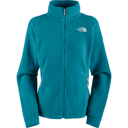 Ski When you need a comfy fleece that does it all, look to The North Face Women's Pumori Fleece Jacket. Made with recycled fleece, this versatile midweight jacket has zip-in compatibility, hand pockets, and a hem cinch cord. Its standard fit gives you plenty of room to hike, ski, skate, and play. - $39.58