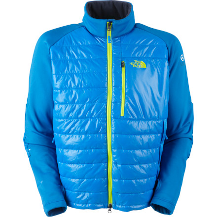 Ski The North Face Men's Jakson Jacket is equally at home as a stand-alone jacket for warm spring ski days or under a shell to provide insulation when the mercury really dives. - $59.69