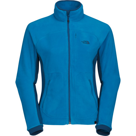 The North Face used Polartec Classic 100 Micro to boost the performance of the Women's Aurora Fleece Jacket. Breathability, warmth, and packability have all been bumped up to keep you feeling better than ever when you're playing hard in the outside. - $53.97
