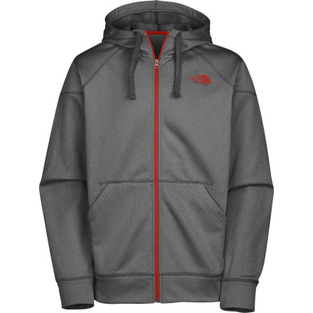 If you were only going to pack one top for you cross-country road trip, the soft, comfortable, and versatile Kaycro Full-Zip Hoodie from The North Face would be a fantastic choice. Whether you pair it with jeans, cargos, or boardies, this classic hoodie fits in anywhere your four-cylinder steed can take you. - $64.95