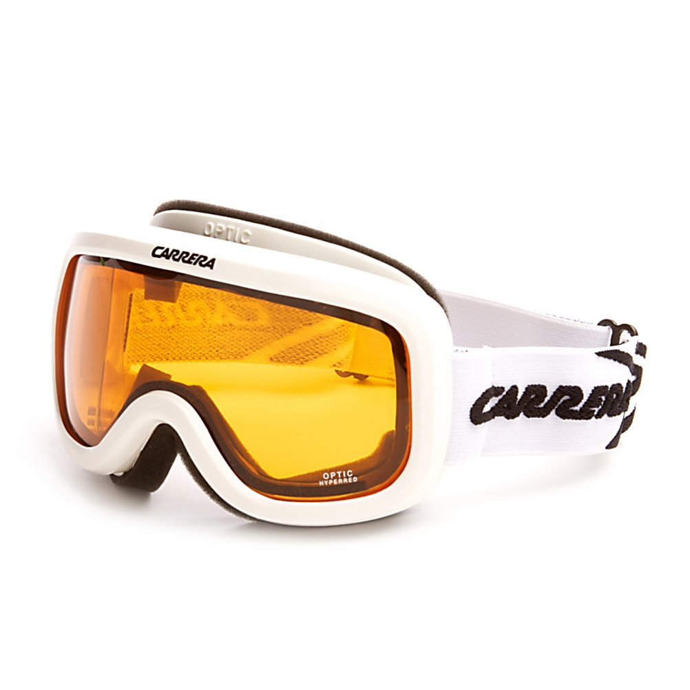 Ski Carrera Optic OTG Goggles - Keep your vision and face protected while out on the slopes with the Carrera Optic OTG (Over the Glasses) Goggles. These goggles are helmet compatible which will give you a secure and comfortable fit. An anti-fog and anti-scratch lens treatment will keep your field of vision clear in all types of conditions. The OTG style on the Carrera Optic OTG goggles ensure these goggles will fit comfortably over your prescription eye glasses for a secure and comfortable fit. . Race: No, OTG: Yes, Comes w/ Case: No, Fog Fan: No, Spherical Lens: No, Polarized: No, Photochromatic: No, Rubberized Strap: No, Helmet Compatible: Yes, Frame Size: Fits Most Faces, Lens Shape: Flat, Lens Coating: n/a, Has Fan: No, Model Year: 2011, Product ID: 296317, Headphones Included: No, Frame Size: Medium, Category: Adult - $24.99
