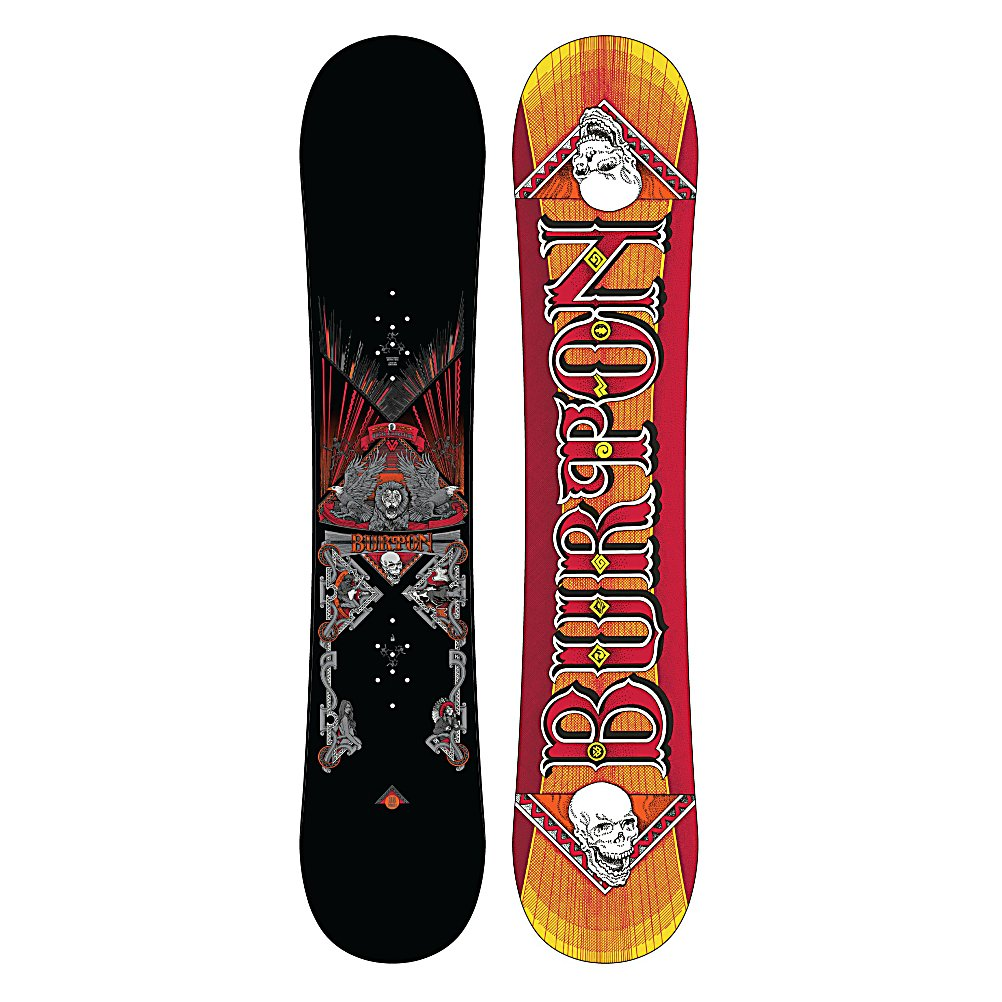 Snowboard Burton TWC Smalls Boys Snowboard - Not everyone had training wheels when they were growing up. Some kids just had a good, solid board and a desire to ride at a higher level. Some of those kids went on to own contests, video game endorsements, and Lamborghinis. The TWC Smalls from Burton is inspired by Shaun White's pro model, brings it right back to snowboarding's roots with a traditionally Cambered board for that classic ride we've grown to love. You have the board, now make it happen. Shaun worked with Norman Orr, a legendary poster artist for the iconic rock venue Fillmore West. The detail is insane. . Recommended Use: All-Mountain Freestyle, Waist Width: 232mm (132cm), Special Features: Double Chair Package, Rocker Profile: Camber, Shape: Twin, Flex: Soft, Pipe Oriented: Yes, Board Width: Regular, Rocker Type: None, Hole Pattern: Burton 3D, Magnatraction: No, Skill Range: Intermediate - Advanced, Model Year: 2012, Product ID: 233285, Shipping Restriction: This item is not available for shipment outside of the United States., Gender: Boys, Skill Level: Intermediate, Warranty: One Year, Base Material: Extruded P-tex, Construction Type: Sidewall Construction, Core Material: Wood, Special Features: Biax Fiberglass, Stance Setback: 0, Stance Width: 455mm, Core Name: Fly Core, Base Name: Extruded, Actual Turn Radius @ Specified Length: 6.27m (132cm) - $129.94