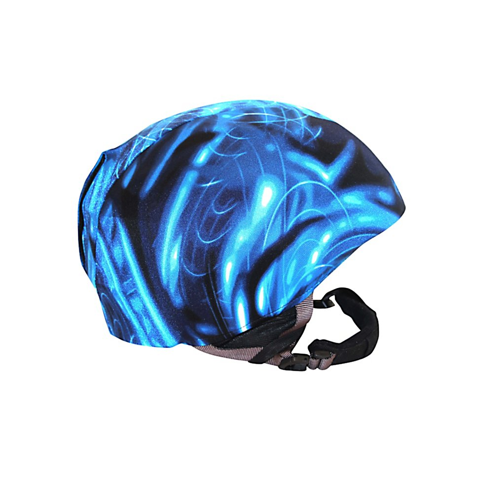 Snowboard Active Helmets Electricity Helmet Cover - The slick and cool style of the Active Helmets Electricity Helmet Cover gives your helmet a personality you can call your own. Whether its for you, your child or teen, these helmet covers do an excellent job at promoting safety with a fun style. Made with a unique blend of spandex, nylon and micro-fiber fleece, they ensure a great fit on most helmets and are easy to swap out for different styles and colors. . Warranty: 7 Days, Race: No, Category: Helmet Covers, Model Year: 2013, Product ID: 281289 - $29.95