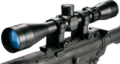 Hunting Experience vastly superior optical quality Legendary Leupold performance in scopes specifically engineered for the AR-15 platform. Each completely waterproof, fogproof model is built tough for delivering exceptional image clarity with Multicoat 4 lens systems. The 3-9x40, 4-12x40 and 6-18x40 offer 12-MOA T2 elevation and windage adjustment, and a special Bullet-Drop Compensation dial calibrated for the 55-gr. .223 Remington/5.56NATO round. Simply range the target, turn the scope dial to the corresponding range, hold dead-on and fire. Its that easy. For tactical or mid to short range shooting, choose the 1.5-4x20mm. All Mark AR scopes have 1 tube diameters and are rigorously tested in the most demanding conditions by Leupold at its Beaverton, Ore. factory. Weight (oz.): 9.5. Type: Riflescopes. Tube Diameter: 1 in.. Reticle: Duplex. Power: 1.5-4. Objective Diameter (mm): 20. Length (in.): 9.2. FOV @ 100 yds. (ft.): 75-28.5. Finish: Matte. Eye Relief (in.): 4.3-3.8. Power 1.5-4x20m D. - $219.88