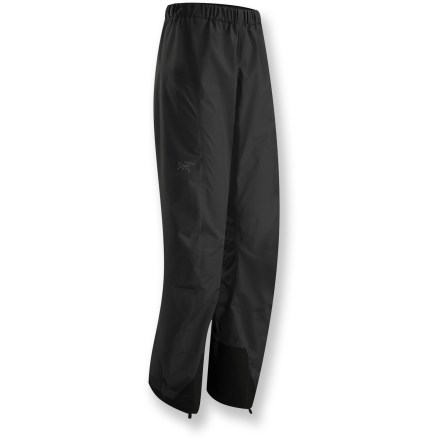 Don't let the rain keep you from venturing out onto the trails. The Arc'teryx Beta SL pants are lightweight, waterproof and breathable to let you enjoy wet weather to its fullest. - $98.83