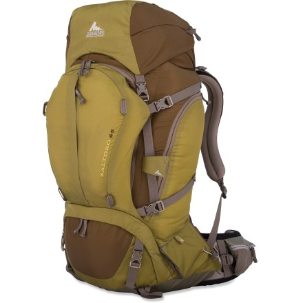 Camp and Hike Offering extra features and accessibility along side a responsive suspension, this all-terrain pack stores enough gear for extended backcountry wandering without the extra wear and tear on your body. - $245.93