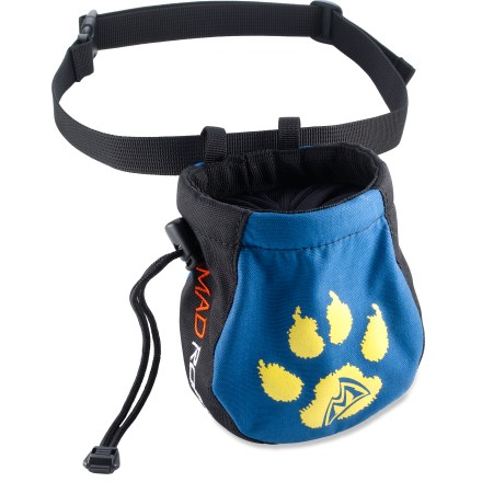 Climbing Sized specifically for kids, the Mad Rock Paws chalk bag is the perfect accessory for your young climber. - $6.93