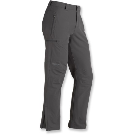 Camp and Hike Flexible, lightweight and weather-resistant, the Marmot Scree pants in men's long sizes are an essential part of any adventure-ready wardrobe. - $76.93