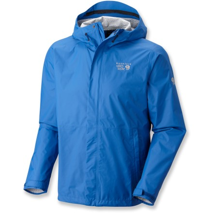 A lightweight shell is your first line of defense against harsh weather and the Mountain Hardwear Plasmic jacket doesn't disappoint. It keeps you safe from water and wind without being bulky or stiff. - $69.83