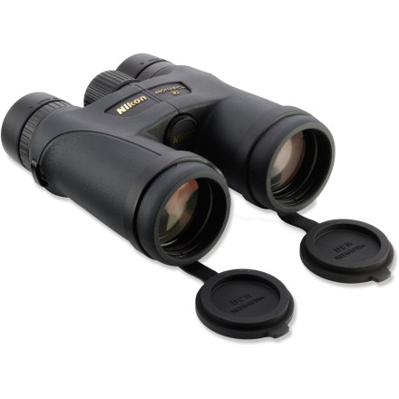 Camp and Hike The powerful Nikon Monarch 7 10 x 42 binoculars feature bright, high-resolution optics and are built tough for waterproof and fogproof performance. - $550.00