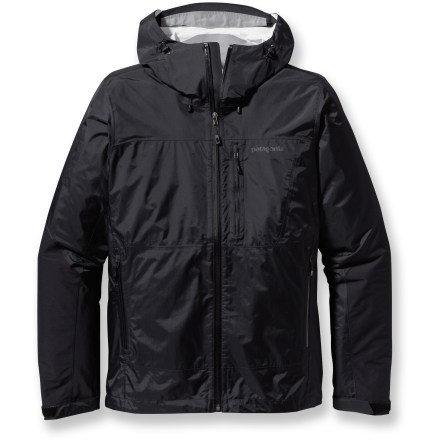 The Patagonia Torrentshell Stretch jacket is a full-featured waterproof, breathable rain jacket that's designed to complement movement during activity with just the right amount of stretch. - $48.83