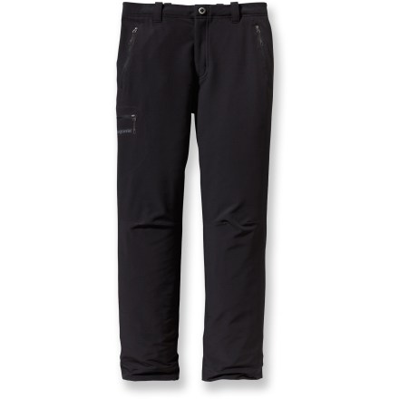 Camp and Hike The men's Simple Guide Pants from Patagonia are lightweight, stretch-woven alpine pants with great breathability and a fast dry time. - $48.83