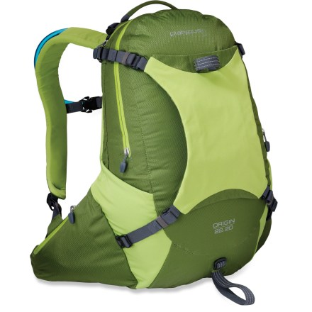 Camp and Hike From peak-bagging day trips to minimalist overnights, the Platypus Origin 22 pack delivers effortless hydration and clutter-free gear hauling. Best fits torsos 18-20 in. - $36.73