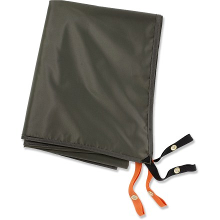 Camp and Hike This lightweight coated polyester tarp protects your REI Hobitat 4 tent floor from abrasion and wear. - $29.93