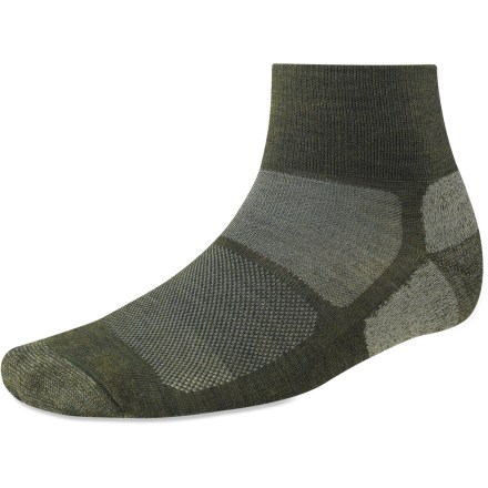 Fitness Perfect for warm-weather adventures when you need minimal cushion and coverage, the ankle-high SmartWool Outdoor Sport Light Mini socks prove that less is definitely more. - $11.73