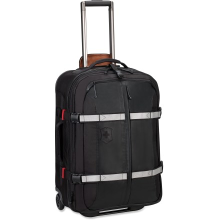 Entertainment The Victorinox CH 25 wheeled upright lets you expand its depth from 8.25 to 9.25 in. when you need some extra space. - $223.93