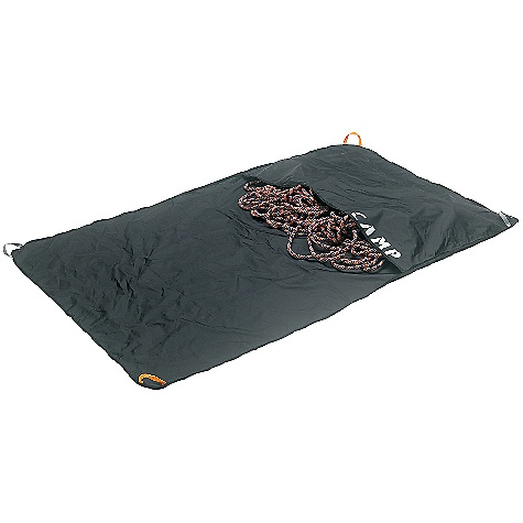 Climbing Camp USA Rocky Rope Tarp DECENT FEATURES of the Camp USA Rocky Rope Tarp Cragging Designed to fit perfectly inside the Rox cragging pack (450)   The SPECS Weight: 505 g / 1 lb 2 oz Volume: 20 L / 1220 cubic inches ALL CLIMBING SALES ARE FINAL. - $29.95