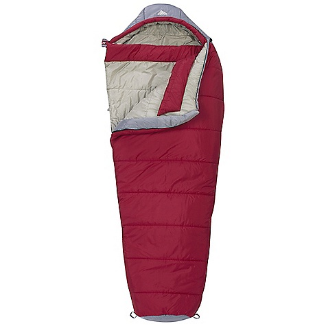 Camp and Hike Free Shipping. Kelty Cosmic 0 Degree Sleeping Bag DECENT FEATURES of the Kelty Cosmic 0 Degree Sleeping Bag Two-layer off-set quilt construction Full baffle collar Insulated hood baffle 58in. two-way locking zipper Zipper draft tube with anti-snag design Internal liner loops Sleeping pad security loops Hang loops for storage Ground-level side seams and differential cut for maximum warmth Stuff sack included Fat Man and Ribbon drawcords Captured cordlock The SPECS Temperature Rating: 0deg F / 18deg C Shape: Mummy Material: Shell: 50D Polyester Taffeta Insulation: CloudLoft Pro Liner: 50D Polyester Taffeta The SPECS for Regular Fits To: 6' / 183 cm Length: 78in. / 198 cm Shoulder Girth: 62in. / 157 cm Fill Weight: 40 oz / 1.12 kg Total Weight: 3 lbs 14 oz / 1.74 kg Stuff Length: 12in. / 30 cm Stuff Diameter: 19in. / 48 cm The SPECS for Long   Fits To: 6' 6in. / 198 cm Length: 84in. / 213 cm Shoulder Girth: 64in. / 163 cm Fill Weight: 49 oz / 1.37 kg Total Weight: 4 lbs 5 oz / 1.93 kg Stuff Length: 12in. / 30 cm Stuff Diameter: 19in. / 48 cm - $114.95