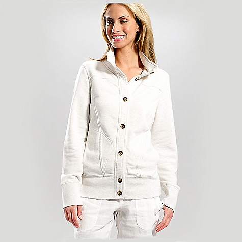 Free Shipping. Lole Women's Cozy Cardigan DECENT FEATURES of the Lole Women's Cozy Cardigan Full button opening cardigan Double layer stand-up collar 2 hand pockets Rib at cuffs and hem Length: 25in. / 63.5 cm - $79.95