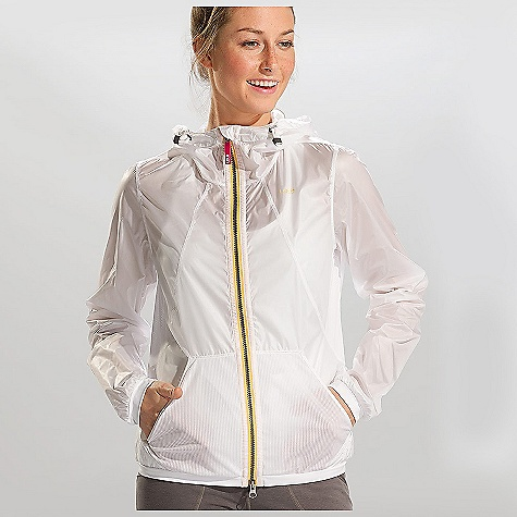 Free Shipping. Lole Women's Mistral Jacket DECENT FEATURES of the Lole Women's Mistral Jacket Jacket with center front zip Attached adjustable hood 2 hand patch pockets Cinching system at hem inside 2nd skin band Cuffs in 2nd skin Reflective prints Mesh lining Length: 24 1/2in. / 62.5 cm - $99.95