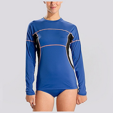 Free Shipping. Lole Women's Coast Rashguard DECENT FEATURES of the Lole Women's Coast Rashguard Flatlock stitching for better comfort Length: 25 in./63.5 cm - $54.95
