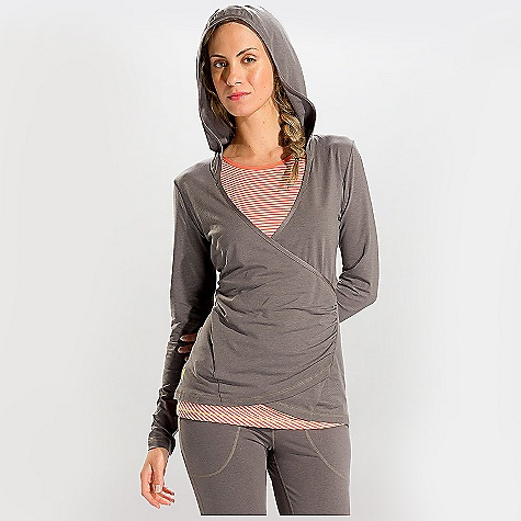 Free Shipping. Lole Women's Meditation 2 Tunic DECENT FEATURES of the Lole Women's Meditation 2 Tunic Crossover neckline Hood Long sleeves Side gathers Reflective logo Length: 27 inches - $79.95