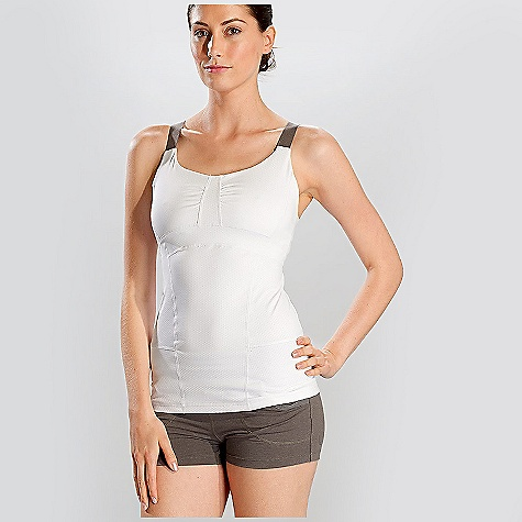 Fitness On Sale. Free Shipping. Lole Women's Impact Tank Top DECENT FEATURES of the Lole Women's Impact Tank Top Tank top with adjustable and convertible straps Medium impact integrated inner bra and side opening for soft cups IPOD pocket at back Reflective logo Length: 26in. / 66 cm - $46.92