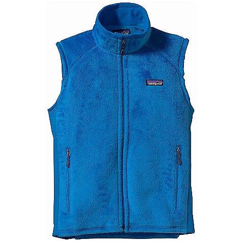 On Sale. Free Shipping. Patagonia Women's R2 Vest DECENT FEATURES of the Patagonia Women's R2 Vest Exceptional warmth-to-weight ratio, stretchy, compressible and breathable Directional knit wicks moisture and speeds dry time Collar and chin flap lined with Polartec Power Stretch fabric (made with recycled polyester) for next-to-skin comfort Shoulder yoke offset for comfort with pack straps Polartec Power Stretch fabric panels under the arms allow for a close fit, improved motion and increased durability in high-wear areas Pockets: Two zippered hand warmers The SPECS Slim fit Weight: 8.2 oz / 232 g Body: 6.1-oz Polartec Thermal Pro 97% polyester (64% recycled), 3% spandex Side panels: 6.6-oz Polartec Power Stretch 88% polyester (60% recycled), 12% spandex This product can only be shipped within the United States. Please don't hate us. - $82.99