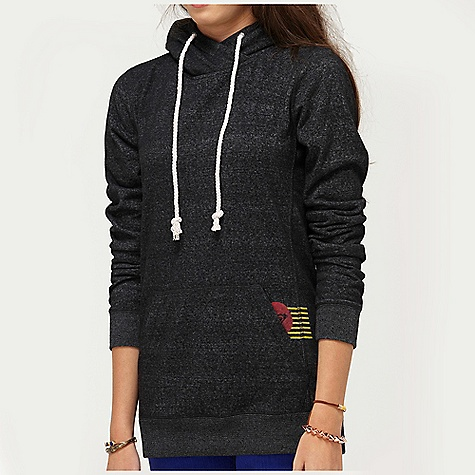 Surf On Sale. Free Shipping. Roxy Women's Melt With You Hoodie DECENT FEATURES of the Roxy Women's Melt With You Hoodie 60% Cotton 40% Polyester Fleece 260 gms Pullover with high neck and front and back screen print 28in. Hps - $38.15