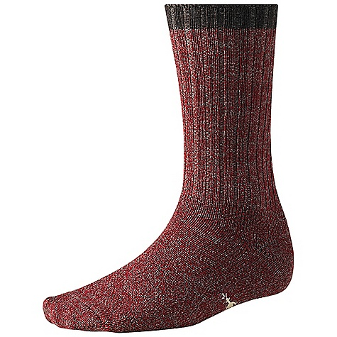 Smartwool Men's Adventurer Sock DECENT FEATURES of the Smartwool Men's Adventurer Sock WOW technology The SPECS Height: Crew 88% Merino Wool, 11% Nylon, 1% Elastane - $21.95