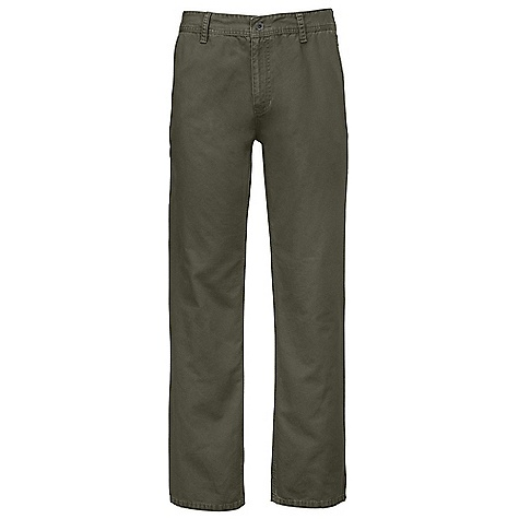 On Sale. Free Shipping. The North Face Men's Lostwood Pant DECENT FEATURES of The North Face Men's Lostwood Pant Regular fit Two slash hand pockets Top entry welt pockets at rear Triple needle stitched seams Fell seam at inseams Woven label at inside waistband Logo patch on rear belt loop The SPECS Average Weight: 20 oz / 575 g Inseam: 32in. Body: 254 g/m2 (7.5 oz/yd2) 100% cotton canvas Finish: Enzyme washed This product can only be shipped within the United States. Please don't hate us. - $51.99