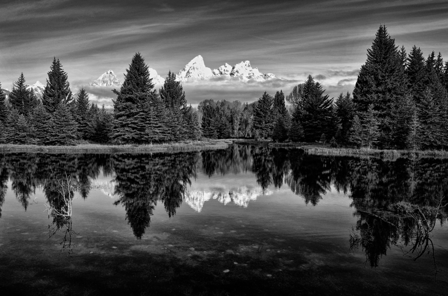 Camp and Hike beaver pond at Schwabacher Landing, Grand Teton National Park
