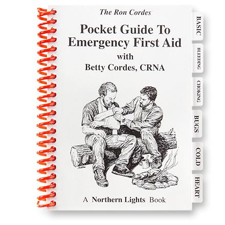 The Pocket Guide to Emergency First Aid is filled with important information to help you administer first aid. - $12.95
