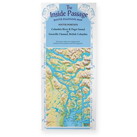 Camp and Hike Customize your own routes through the southern portion of the Inside Passage with this handy map. - $9.93