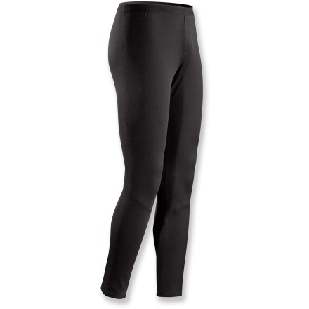 Entertainment Made for stop-and-go activities in cooler weather, the quick-drying Arc'teryx Phase AR long-underwear bottoms offer solid midweight insulation. Specially designed fabric wicks moisture and keeps you cool during high-output activity; when you're resting, the fabric dries quickly and helps regulate temperature. Fabric is inherently stretchy without the use of spandex, making it more durable. Anatomical shaping and a gusseted crotch ensure freedom of movement. Fabric is specially treated to keep unpleasant odors in check. Closeout. - $29.83