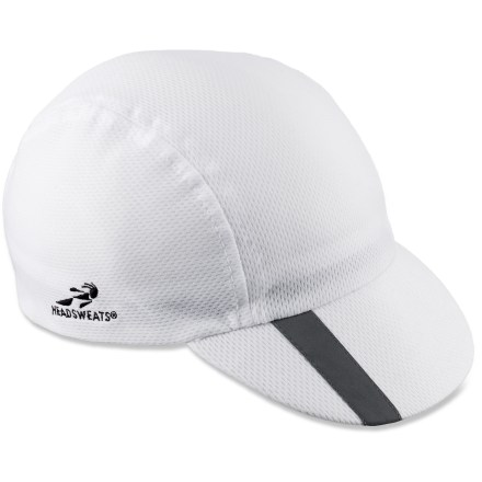 Entertainment This Headsweats SpinCycle bike cap can be worn under a helmet or alone. Its moisture-wicking fabric keeps the sweat out of your eyes. - $9.83