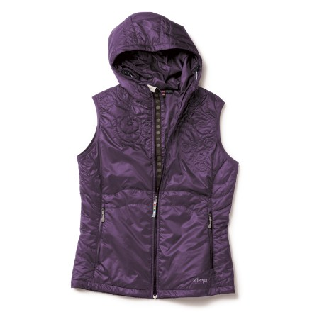 Entertainment Insulated with lightweight PrimaLoft, the Sherpa Adventure Gear Maaya vest will keep your head and core warm, which helps the rest of you feel good, too--especially when you're on the go. - $64.83