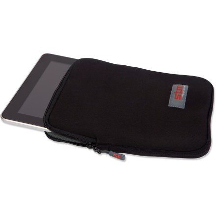 Entertainment The sleek STM Glove iPad(R) sleeve fits like a wetsuit, providing protection from bumps, scratches and dust. Plush lining and 3mm neoprene with a durable YKK(R) zipper swaddles your iPad. Fits first and second generation iPads. - $17.93