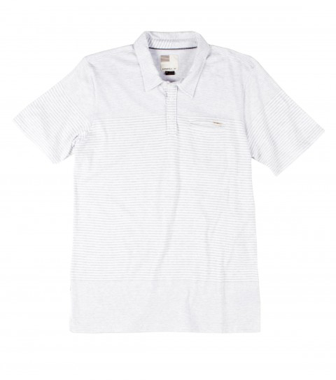 Surf O'Neill Monkey Business Polo Shirt.  100% Cotton jersey.  Yarn dye stripe polo with garment wash. Standard fit with chest pocket and logo labels. - $44.50